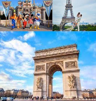 !!! 8 DNI – FRANCJA – Paryż – Disneyland – Wersal- Luwr – Wieża Eiffla – Niemcy – Pałac w Rogalinie