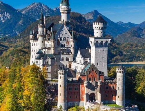 BAWARIA- Zamki Ludwika II-Monachium- 6 dni